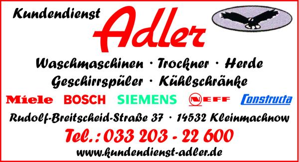 Adler Kundendienst