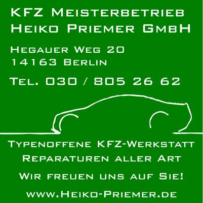 KFZ Meisterbetrieb Heiko Priemer GmbH