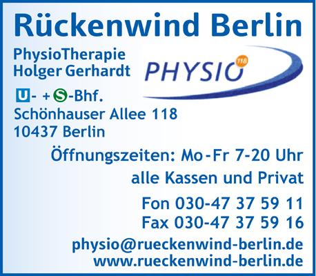 Physiotherapie Schönhauser 118 GmbH
