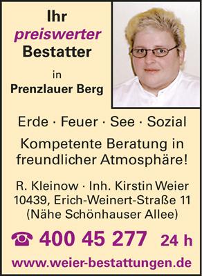 Kleinow, R., Inh. Kirstin Weier