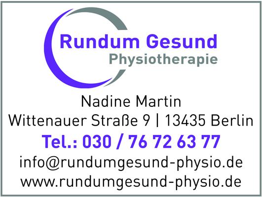 Martin, Nadine - Rundum Gesund Physiotherapie