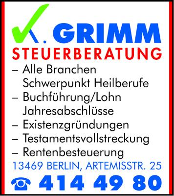 Grimm, Kristian H. - Steuerberater