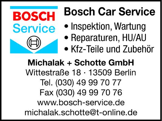 Bosch Car Service Michalak + Schotte GmbH