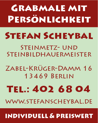 Scheybal, Stefan - Grabmale