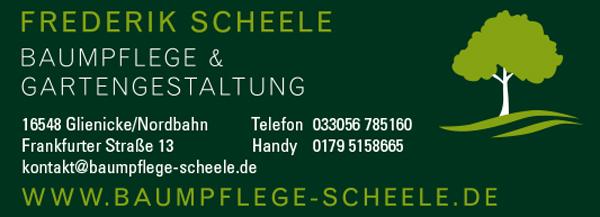 Baumpflege & Gartengestaltung, Frederik Scheele
