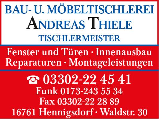 Bau- und Möbeltischlerei Andreas Thiele