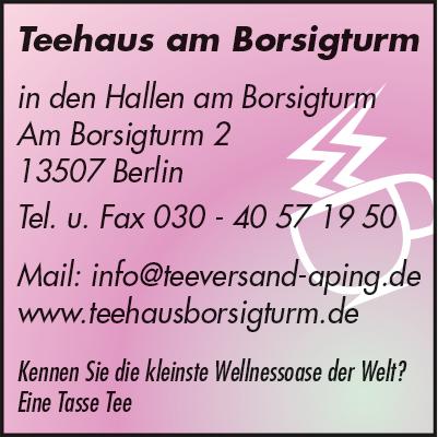Teehaus am Borsigturm