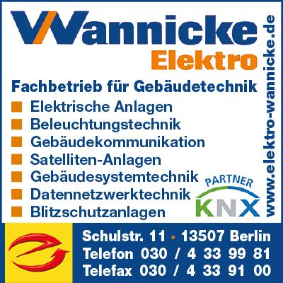 Wannicke Elektro