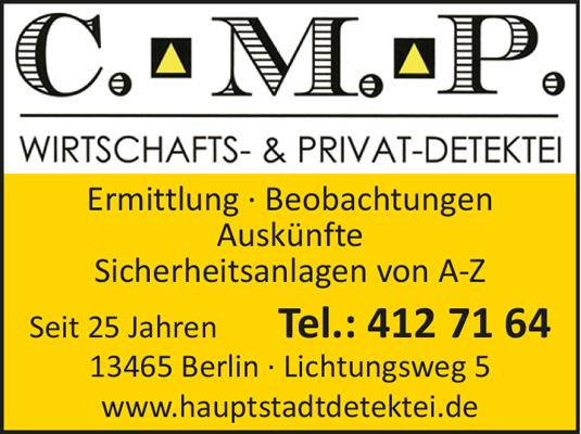 C. M. P. Wirtschafts- & Privatdetektei