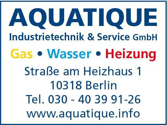 Aquatique Industrietechnik & Service GmbH Gas Wasser Heizung