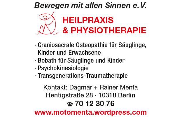 Menta, Dagmar - Heilpraxis und Physiotherapie