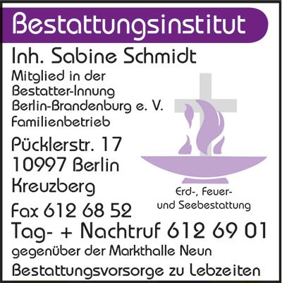 Bestattungs-Institut Inh. Sabine Schmidt