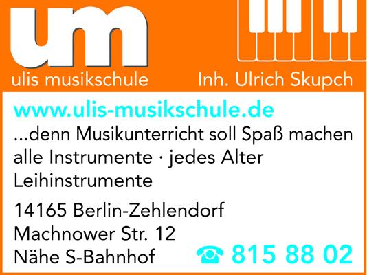 Ulis Musikschule Inh. Ulrich Skupch