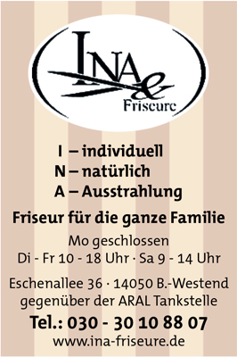 Ina & Friseure, Ina Jenrich-Goepel
