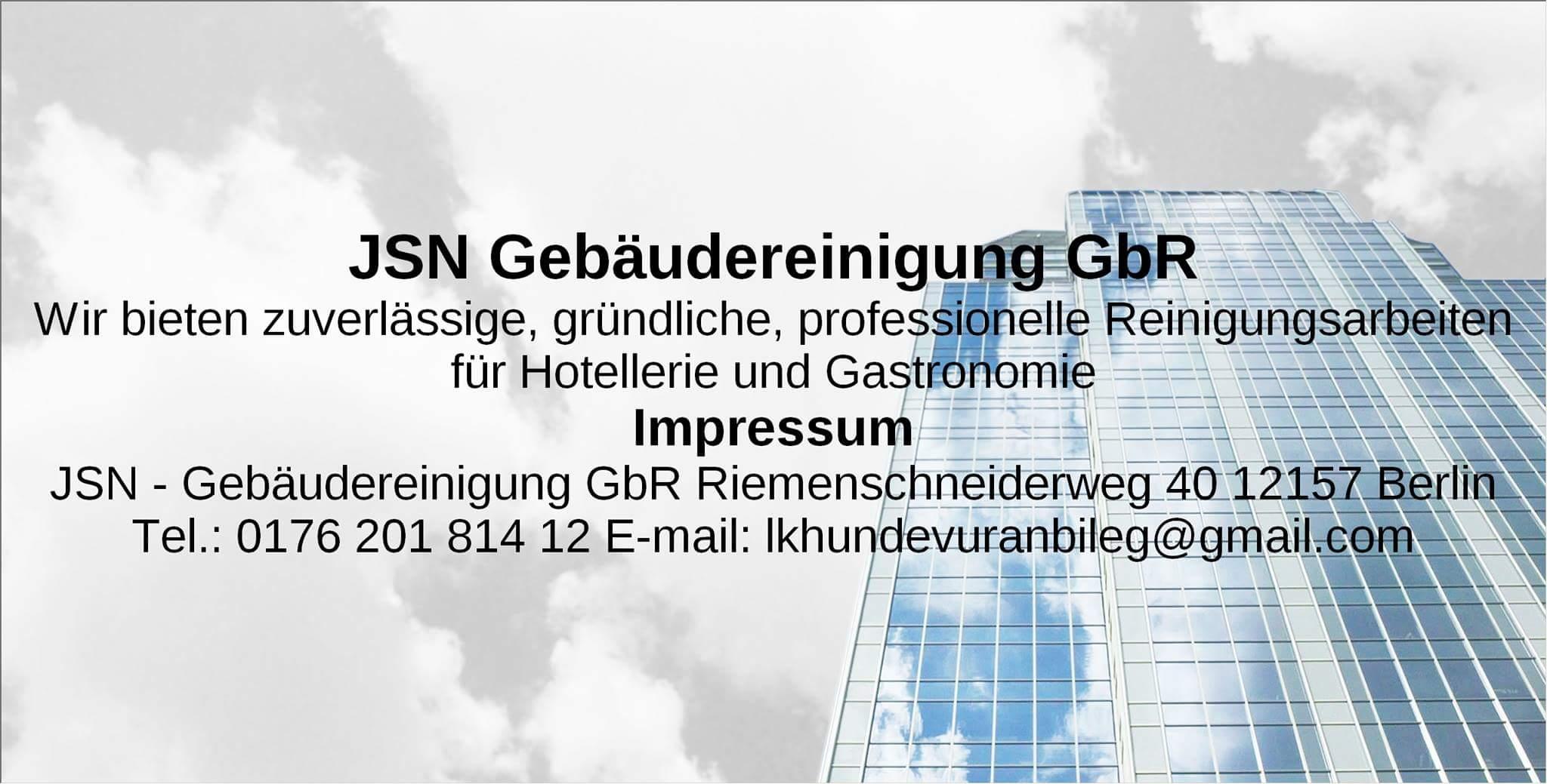 JSN Gebäudereinigung GbR