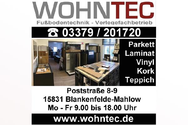 WOHNTEC GmbH Fußbodentechnik - Verlegefachbetrieb
