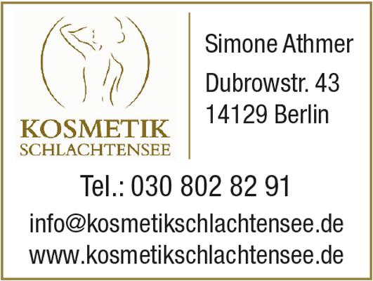 Kosmetik Schlachtensee Inh. Simone Athmer