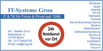 Logo von IT-Systeme Grun