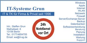 IT-Systeme Grun