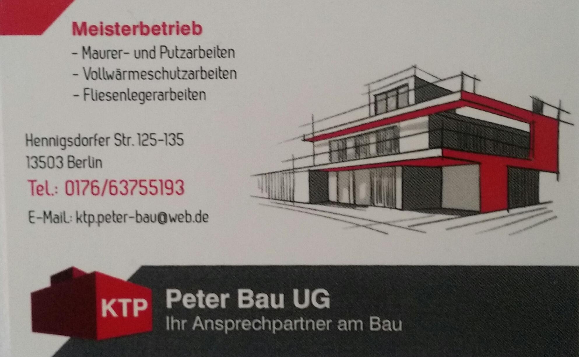 KTP Peter Bau UG (haftungsbeschränkt)