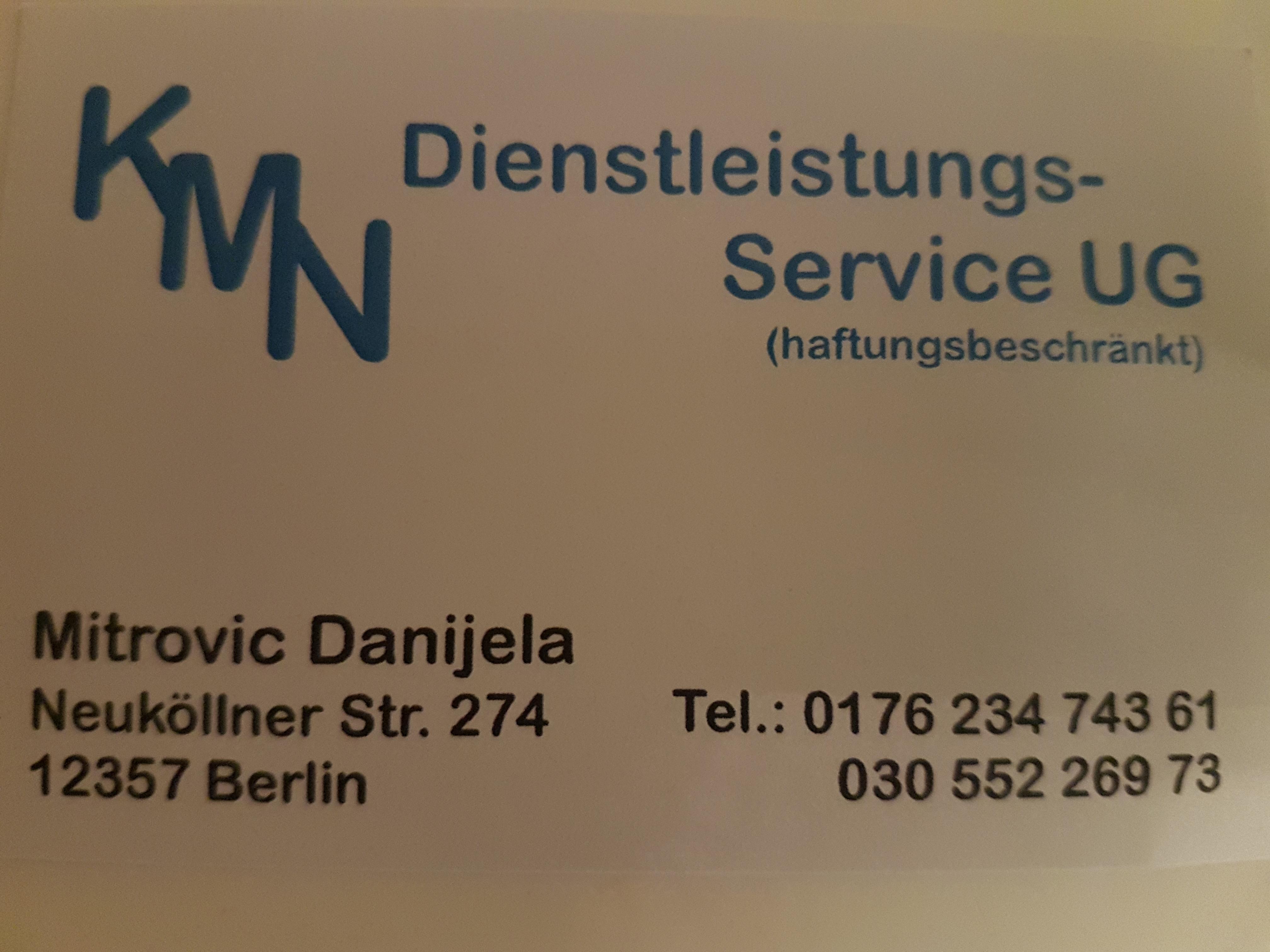 KMN Dienstleistungsservice UG (haftungsbeschränkt)