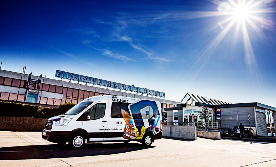 Dein Stellplatz GmbH Parken am Flughafen Tegel und Schönefeld