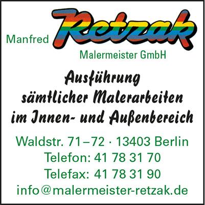 Manfred Retzak Malermeister GmbH