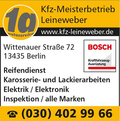 1A Kfz-Meisterbetrieb Leineweber