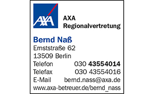 AXA Regionalvertretung Bernd Naß