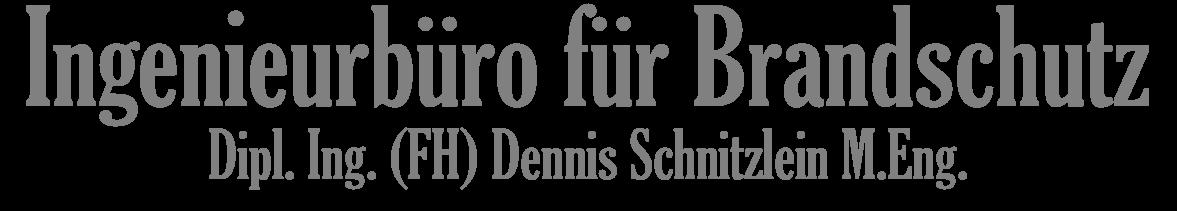 Ingenieurbüro für Brandschutz - Dennis Schnitzlein