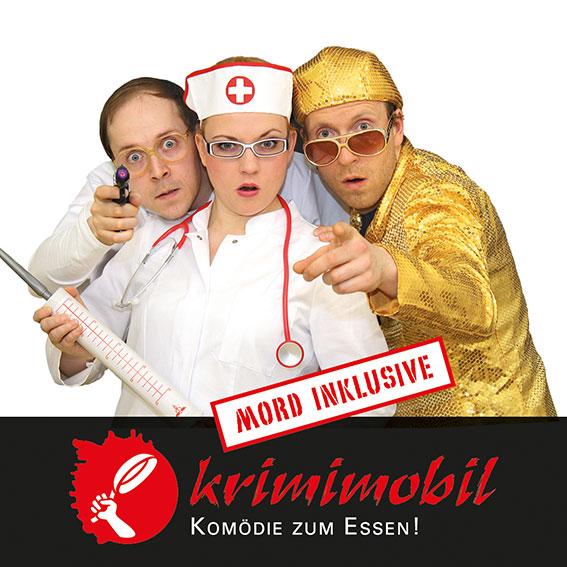 Theater krimimobil Berlin - Mörderische Dinner-Krimi-Komödien