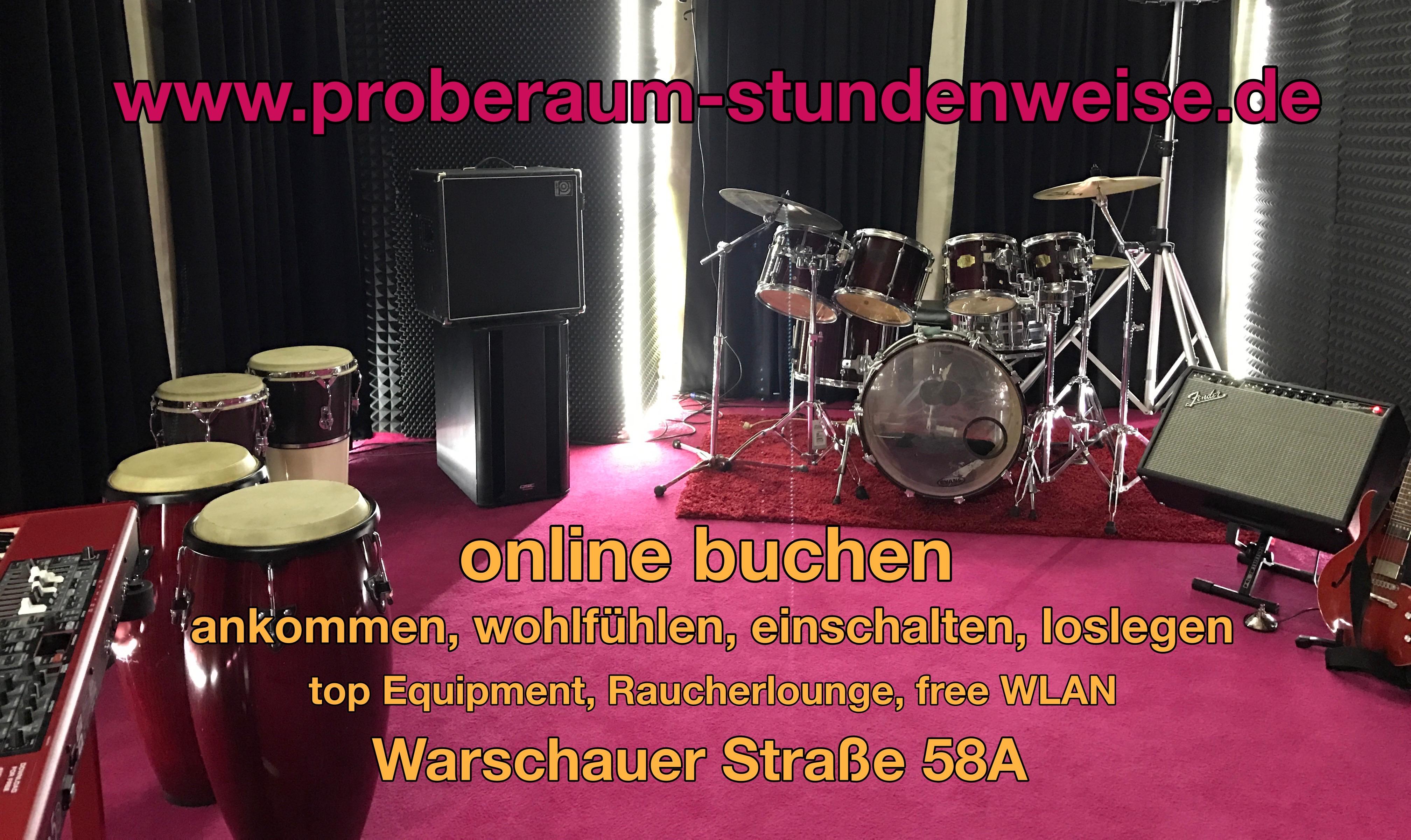 Proberaum-stundenweise.de