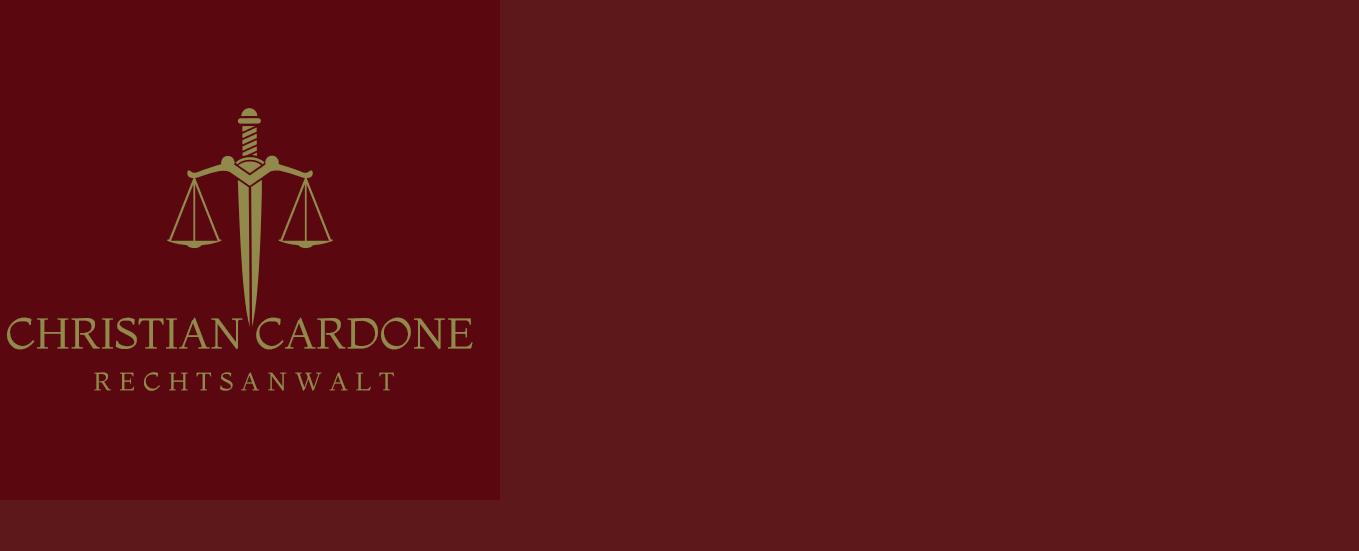 Rechtsanwalt Christian Cardone
