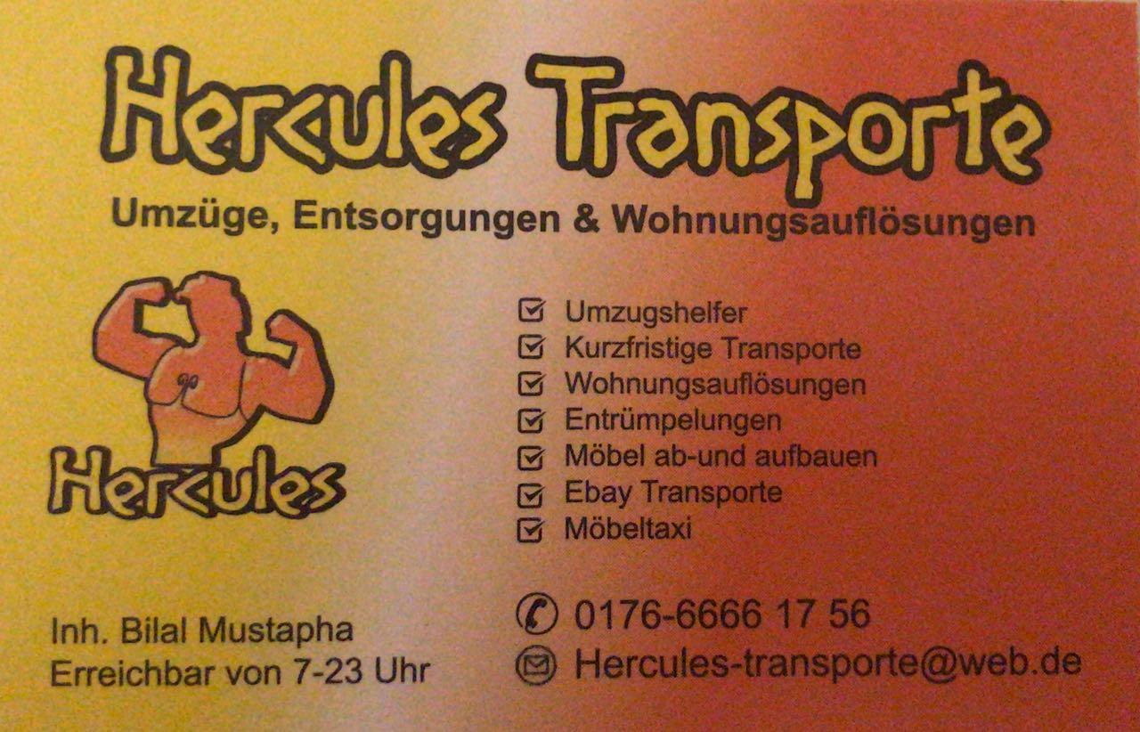 Hercules Transporte - Entrümpelungen und Wohnungsauflösungen