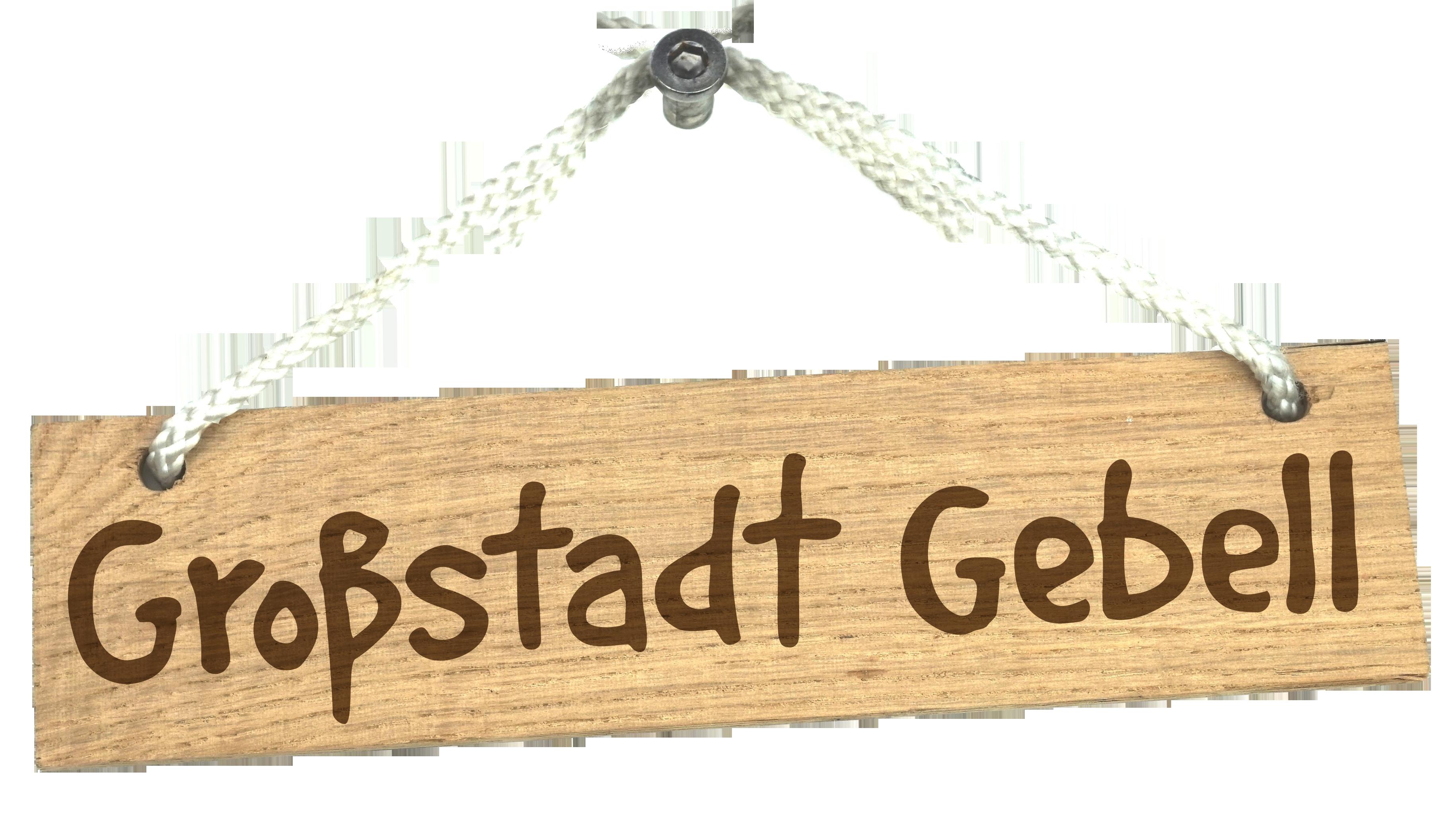 Logo von Großstadt Gebell