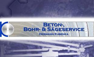 Beton-, Bohr- & Sägeservice Hermann Kubenka