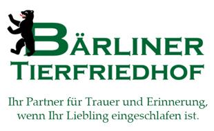 Logo von Bärolina Haustierbestattungen,  Bärliner Tierfriedhof Steglitz, K. Mitschke
