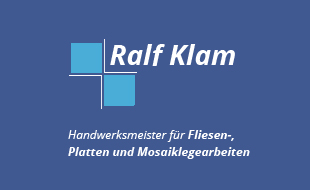 Klam, Ralf, Meisterbetrieb