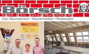 Logo von Börsch GmbH & Co. Bauausführungen KG