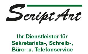 Logo von Script Art - Ihr Dienstleister für Sekretariats-, Schreib-, Büro- und