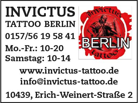 INVICTUS TATTOO Berlin
