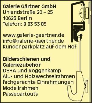 Galerie Gärtner GmbH