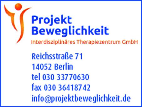 Projekt Beweglichkeit - PB interdisziplinäres Therapiezentrum GmbH