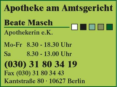 Apotheke am Amtsgericht Beate Masch Apothekerin e.K.