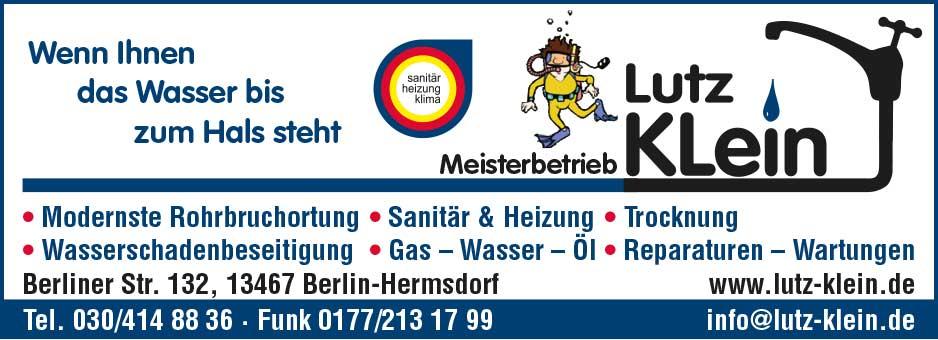 Klein, Lutz - Gas- und Wasser-Installateurmeister