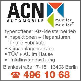 ACN Automobile Mueller + Mueller