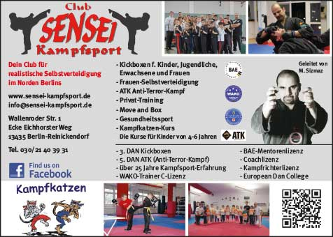 Sensei Kampfsport