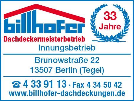 Billhofer Dachdeckermeisterbetrieb