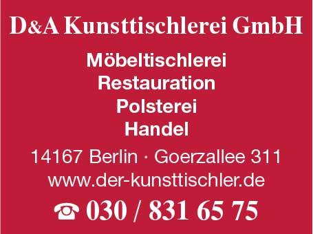 D & A Kunsttischlerei GmbH