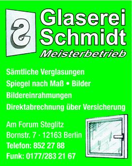 Schmidt Glaserei